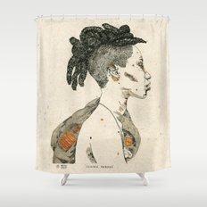 Femme Fatale Shower Curtain
