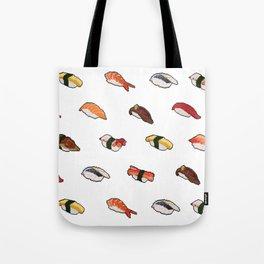 Pixelated Sushi Tote Bag