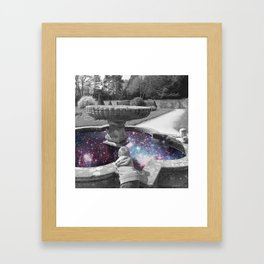 THE OBSERVERS Framed Art Print