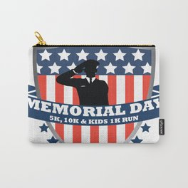 Big UP Soldats Memorial Day Carry-All Pouch