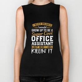 Super Cool Office Assistant Tshirt Funny Gift Admin Biker Tank