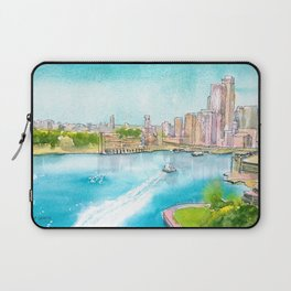 A Colorful Twist on Sydney Harbour Laptop Sleeve
