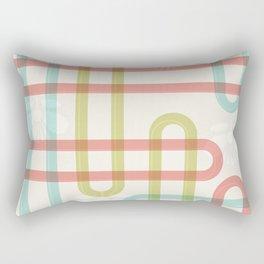Japanese Pattern: Summer Rectangular Pillow