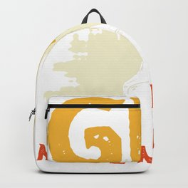 Gin made me do it - gin drinkers Backpack
