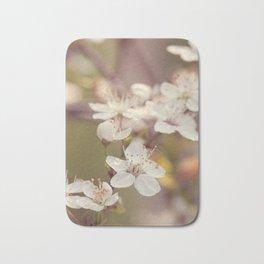 Blooming spring tree Bath Mat