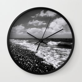 BEACH DAYS XXII BW Wall Clock