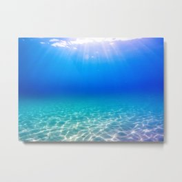 One Deep Breath Metal Print