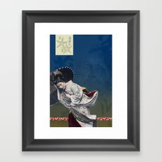 Memories Like Rain Framed Art Print