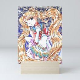Super Sailor Moon Clouds Mini Art Print