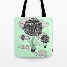 Hot Air Ballooning Tote Bag