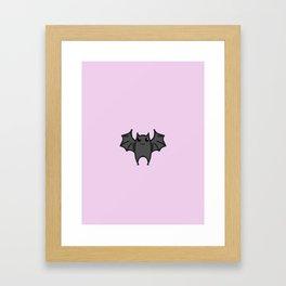 Rose Bite Framed Art Print