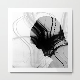 the collector of thoughts Metal Print