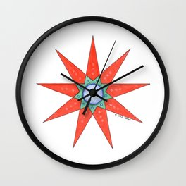 GRANDMOTHER STAR  Wall Clock