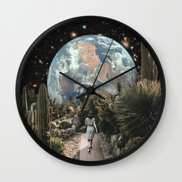 A DISTANT VIEW Wall Clock