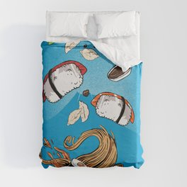 Sushi - Eat all you can Duvet Cover
