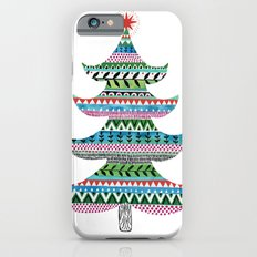 Christmas tree stripe Slim Case iPhone 6