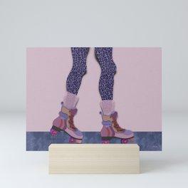 Skater girl 2. Mini Art Print