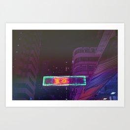 Hongkong Signs X Art Print