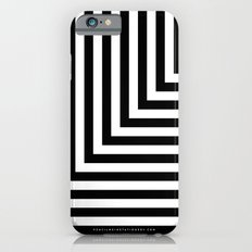 Black and White L Stripes // www.pencilmeinstationery.com iPhone 6s Slim Case