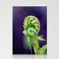 fern Stationery Cards featuring Fern by LoRo  Art & Pictures