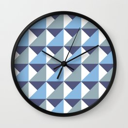 Arctic Pyramids Wall Clock