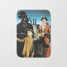 Darth Vader in Mary Poppins Bath Mat