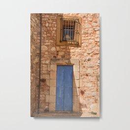 A doorway in France in Gordon Metal Print