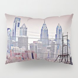 Philly Grit Pillow Sham