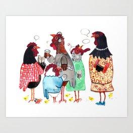 PTA Meeting Art Print