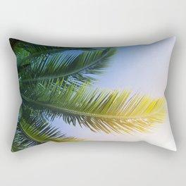 Palm tree frond Rectangular Pillow