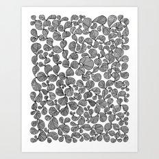 Contemporary Paisley Revolution Art Print