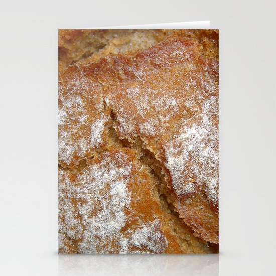 bread macro II Stationery Cards