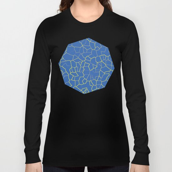 Crackle at the Poolside Long Sleeve T-shirt