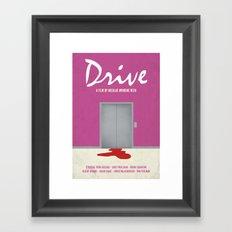 Drive... Framed Art Print