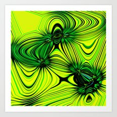 Lemon and Lime Art Print