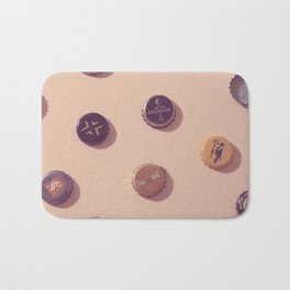 #02#Beercaps#vintage#collection Bath Mat