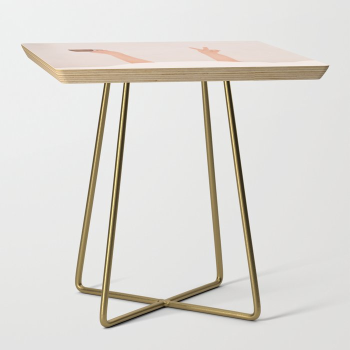 Good Peaceful Morning Side Table