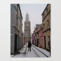 Guesthouse Christmas  Canvas Print