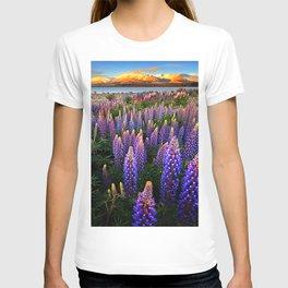 LUPINES FIELD T-shirt