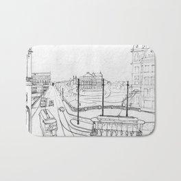 Sao Paulo 1920 Bath Mat