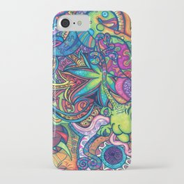 Trippy Weed iPhone Case