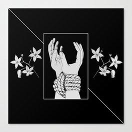 Tied & Nightshade Canvas Print