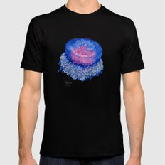 jelly fish Black MEDIUM Mens Fitted Tee