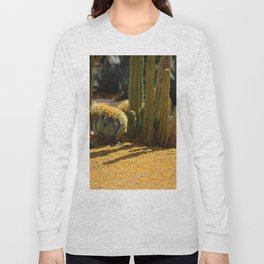 Palo Brea Blossoms and Cactus Garden Long Sleeve T-shirt