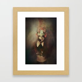 The queen of roses Framed Art Print