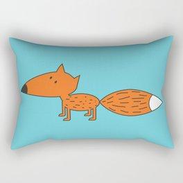 Red muzzle Rectangular Pillow