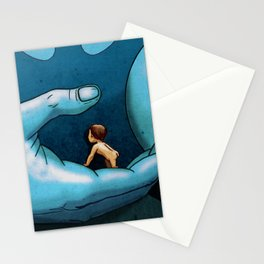 TERR MEETS TIVA IN FANTASTIC PLANET Stationery Cards