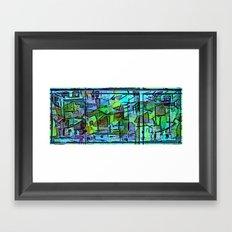 Cool Jazz Framed Art Print