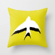 Avis Umbra Throw Pillow