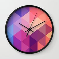 brand new Wall Clocks featuring Brand new day by marcegaral